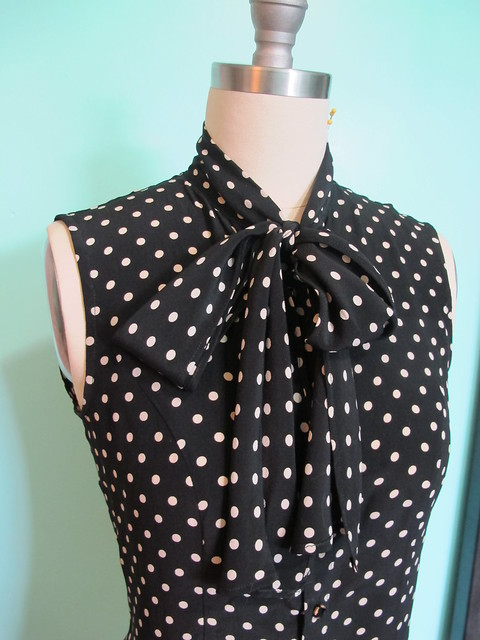 Silk Tie Blouse - finished!