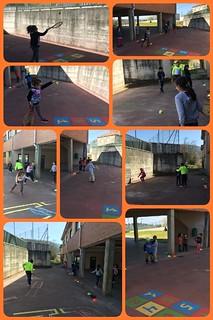 Tenis en la Escuela - CEIP Rodolfo Núñez (Ourense)