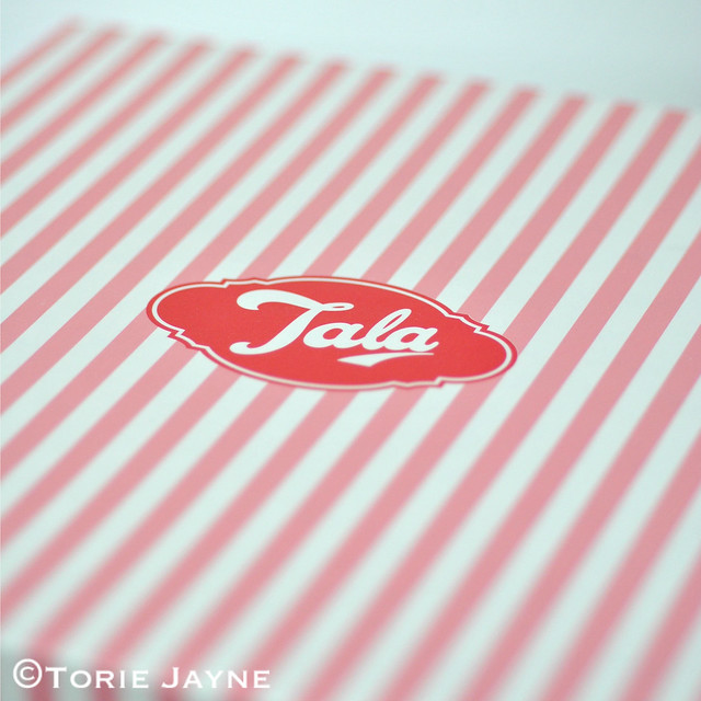 Tala Pink & White Candy Stripe Box
