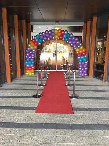 Ballonboog 7m Open Dag van de Zorg Marnix Revalidatiecentrum Vlaardingen