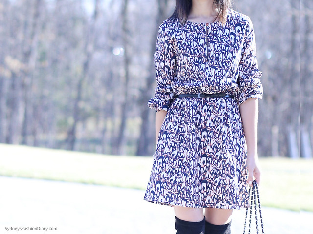 PrintedShiftDress_SydneysFashionDiary