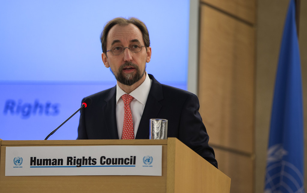 High Commissioner Zeid Opens HRC 31