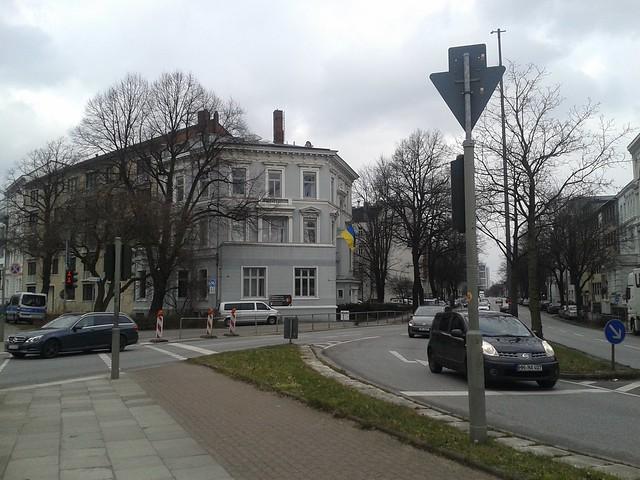 Gespräch im Generalkusulat der Ukraine in Hamburg