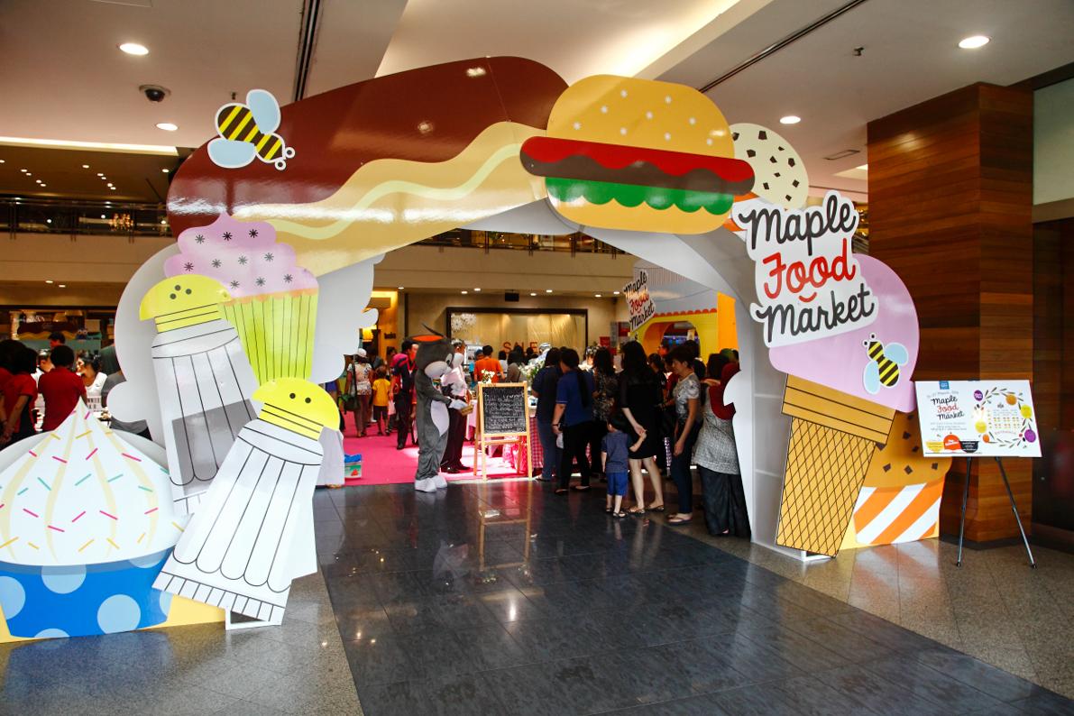 Maple Food Market Entrance