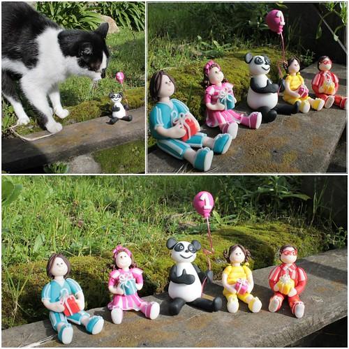 panda e caricas