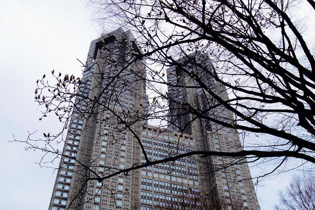 2016年3月13日新宿中央公園-7
