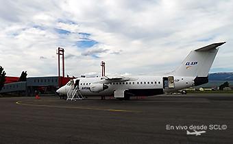 Aerovías DAP BAe146 en BBA (RD)