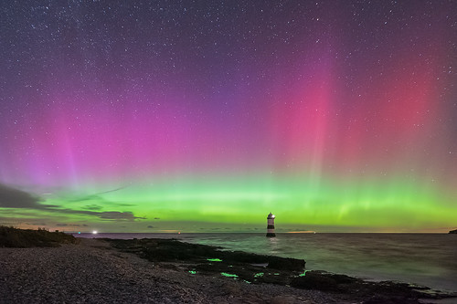'Mothers Day Aurora' - Penmon, Anglesey