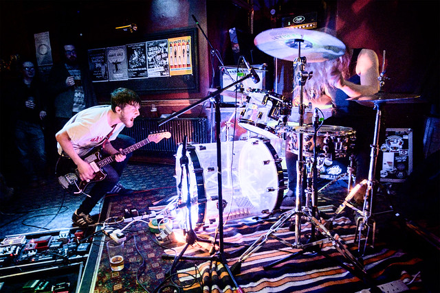 Photograph: [Untitled]; Memory of Elephants @ The Stag and Hounds, Bristol, March 2016. By Simon Holliday.