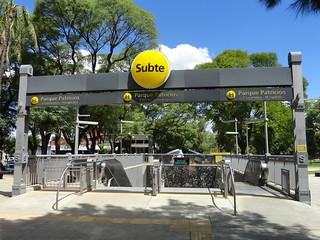 Subte H Parque Patricios  Distrito Tecnológico