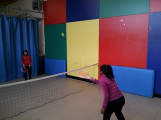 Tenis en la Escuela - Centro de Educación Especial Ntra. Señora de Lourdes –Aspronaga (A Coruña)