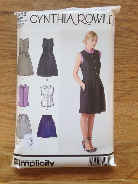 Simplicity 2215; Skirt