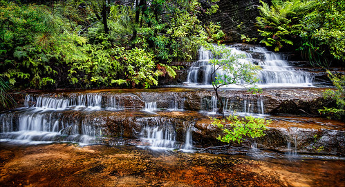Bridal Veil Falls / Blue Mountains