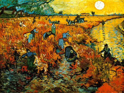 Red-Vineyard-at-Arles