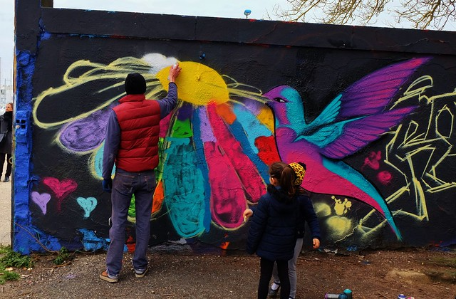 Springtime Delights Festival Graffitis, La Rochelle, Le Gabut