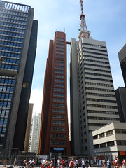 Tall thin building