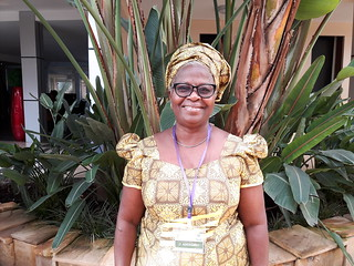 Olufunmilayo Adebambo, co-principal investigator for the in African Chicken Genetic Gains (ACGG)