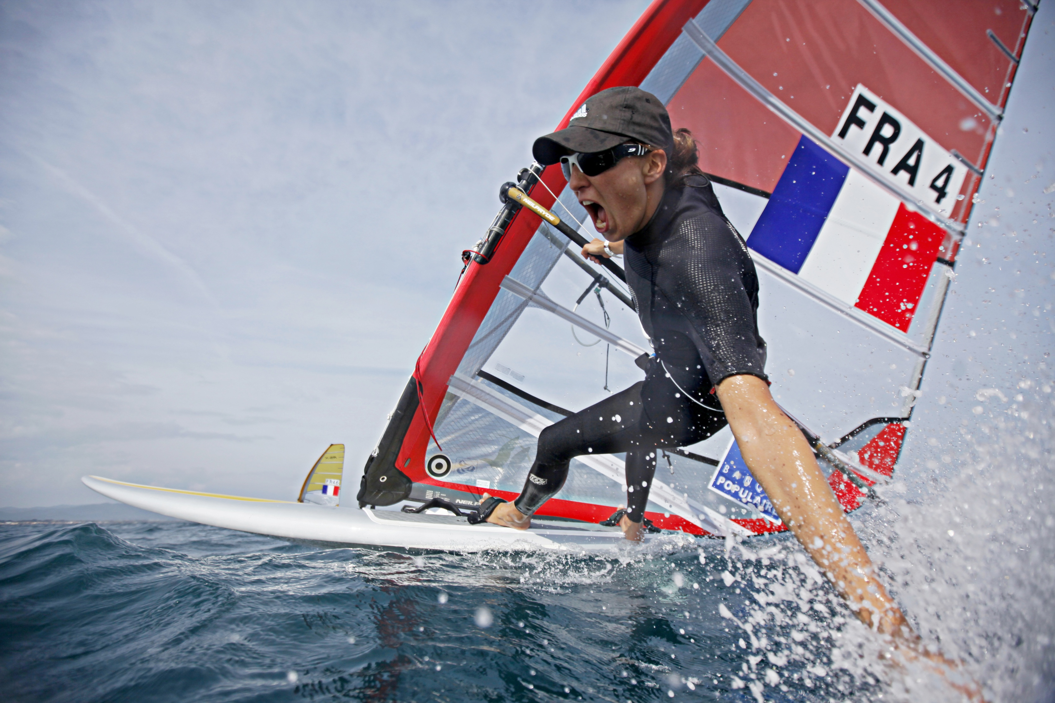 Charline Picon/RS:X ©C. Launay-FFVoile
