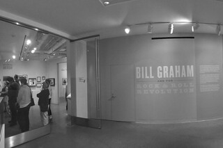 Contemporary Jewish Museum - Bill Graham Rock Roll Revolution sign