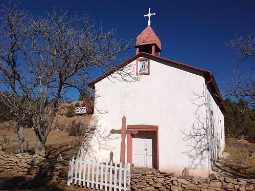 Nuestra Señora de la Luz Catholic Church, Ca&ntildeon;cito, NM, by Barbara Wright