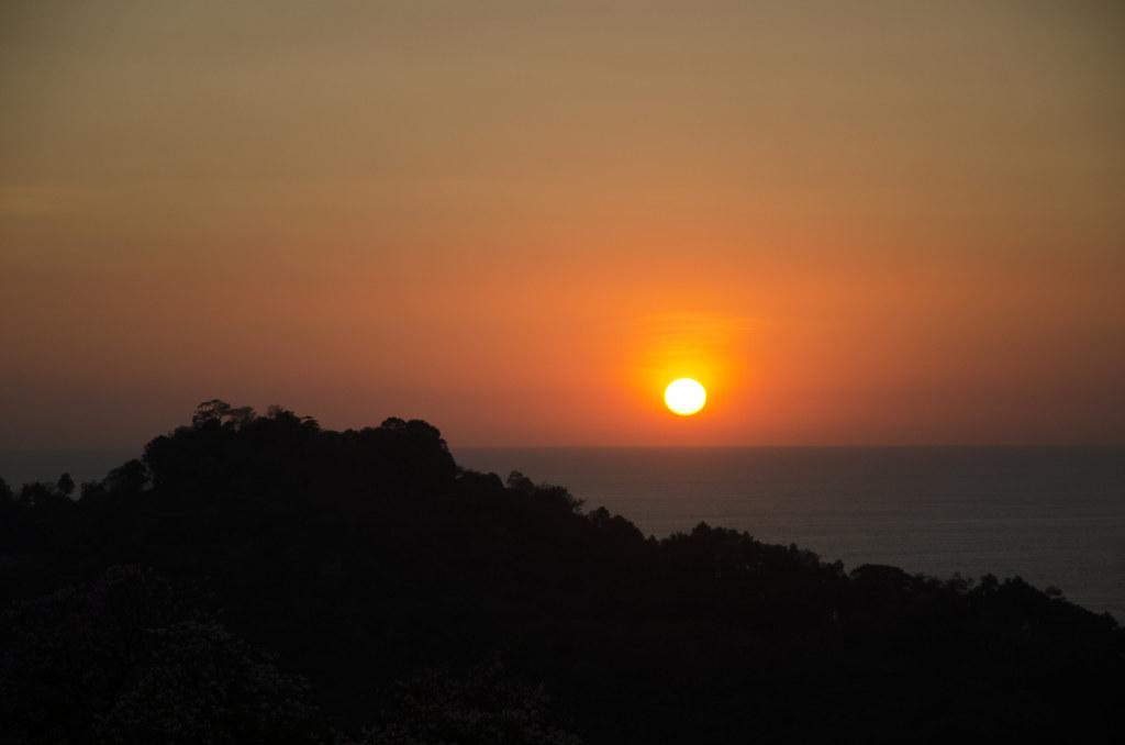 Sunset from La Mariposa Hotel