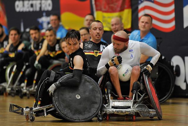 Rugby fauteuil / Tournoi de Qualification Paralympique IWRF / 19 avril 2016