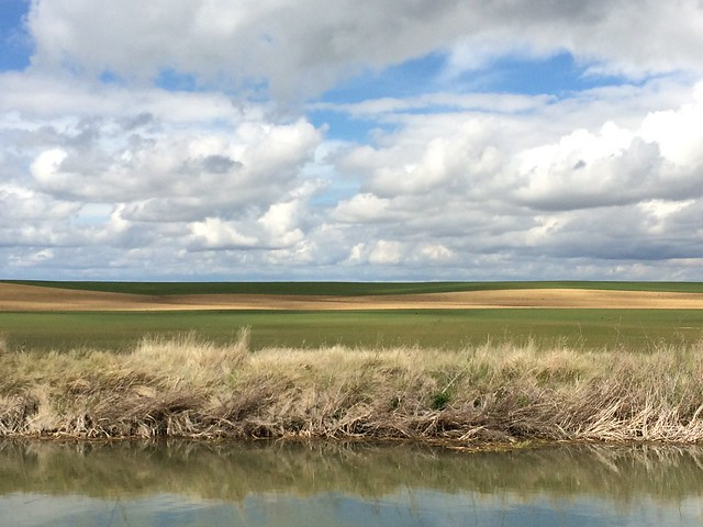 Clouds over the Meseta