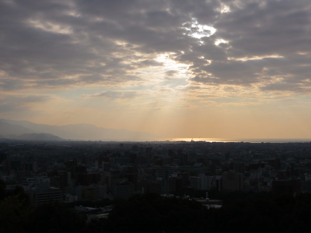 View from Matsuyama Castle