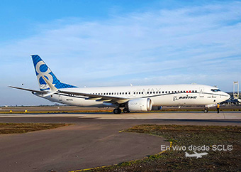 Boeing B737 MAX 8 (Roberto Araya)
