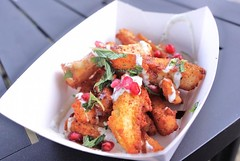 Halloumi Fries from Oli Babas food truck