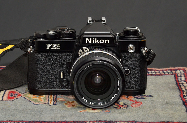 Nikon FE2 with Ai-S Nikkor 24mm f/2.8