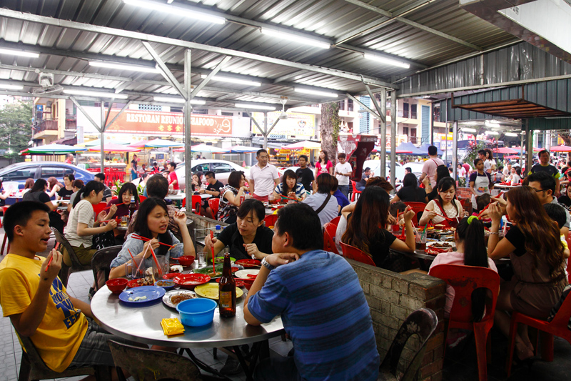 Wong Ah Wah Restaurant Crowd