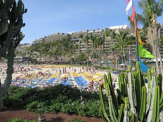 Anfi Beach, Arguineguín, Gran Canaria, December 2015