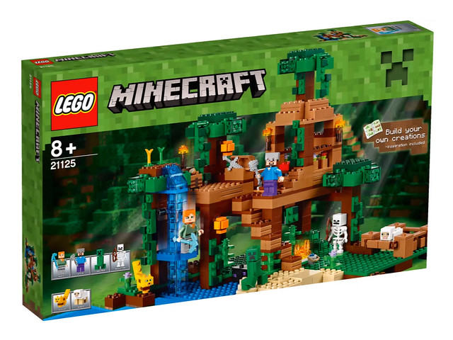 LEGO Minecraft 21125 - The Jungle Tree House