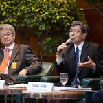 Distinguished Speakers' Program focuses on economic catch-up