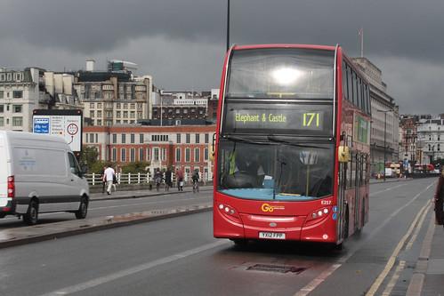 London Central E257 YX12FPP