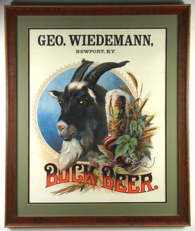 Bock-Beer-Signs-Pre-Pro-Geo-Wiedemann-Brewing-Co-1910