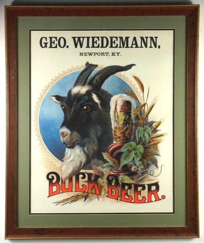 Bock-Beer-Signs-Pre-Pro-Geo-Wiedemann-Brewing-Co-1910