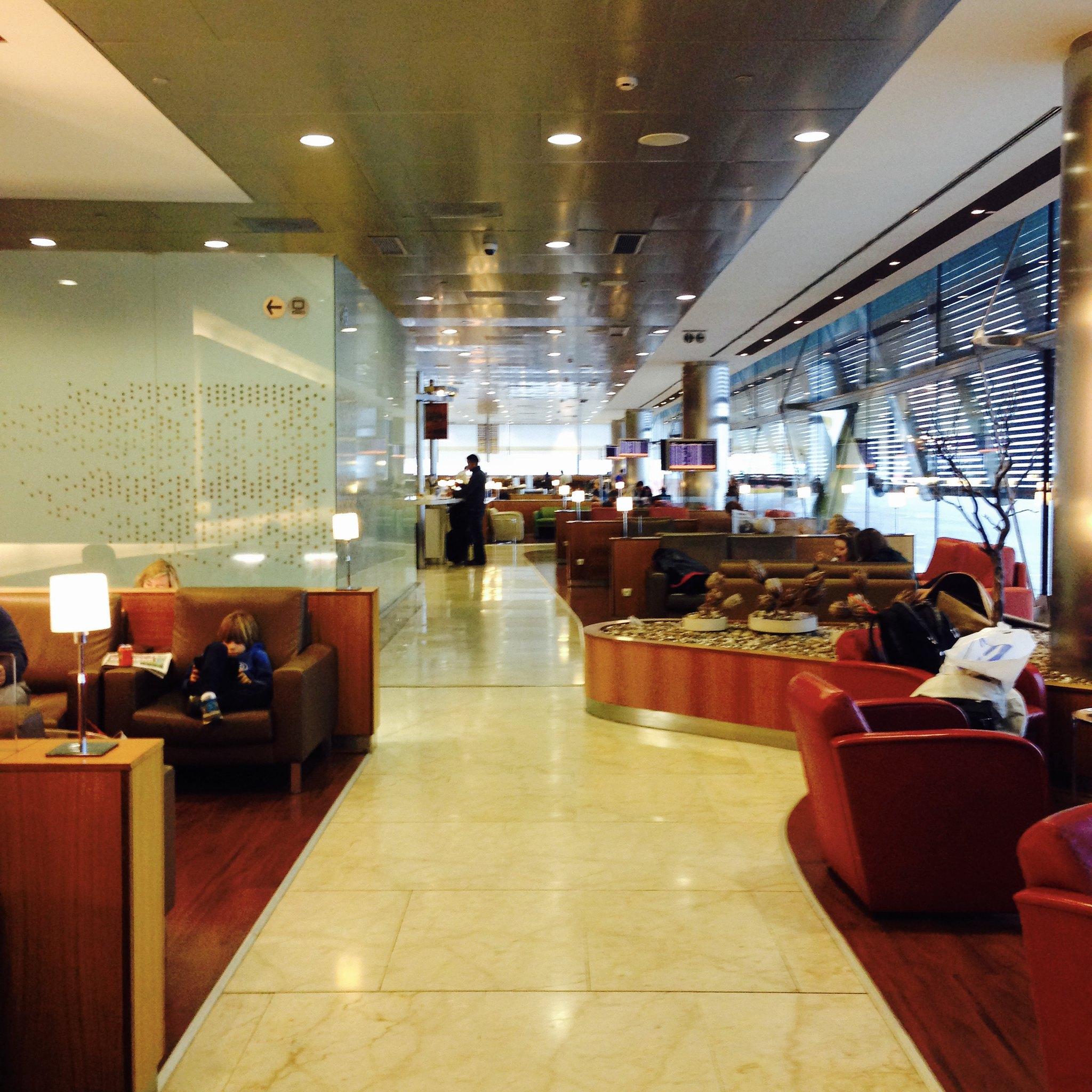 Madrid (MAD) Terminal 4S Iberia Velazquez Lounge