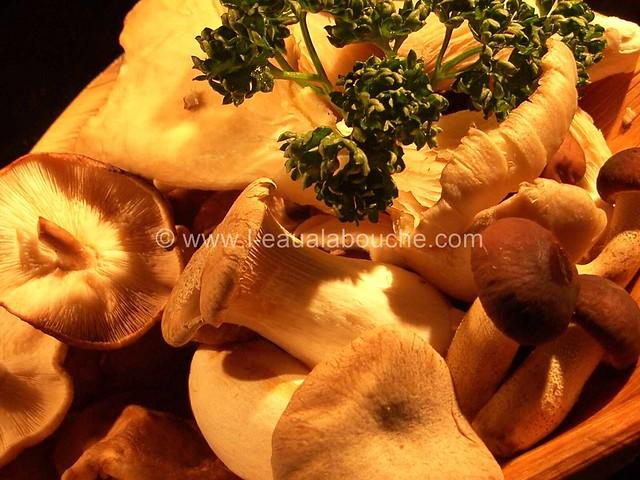Rôti de Porc dans le  Cocotte  Champignons © Ana Luthi Tous droits réservés 003