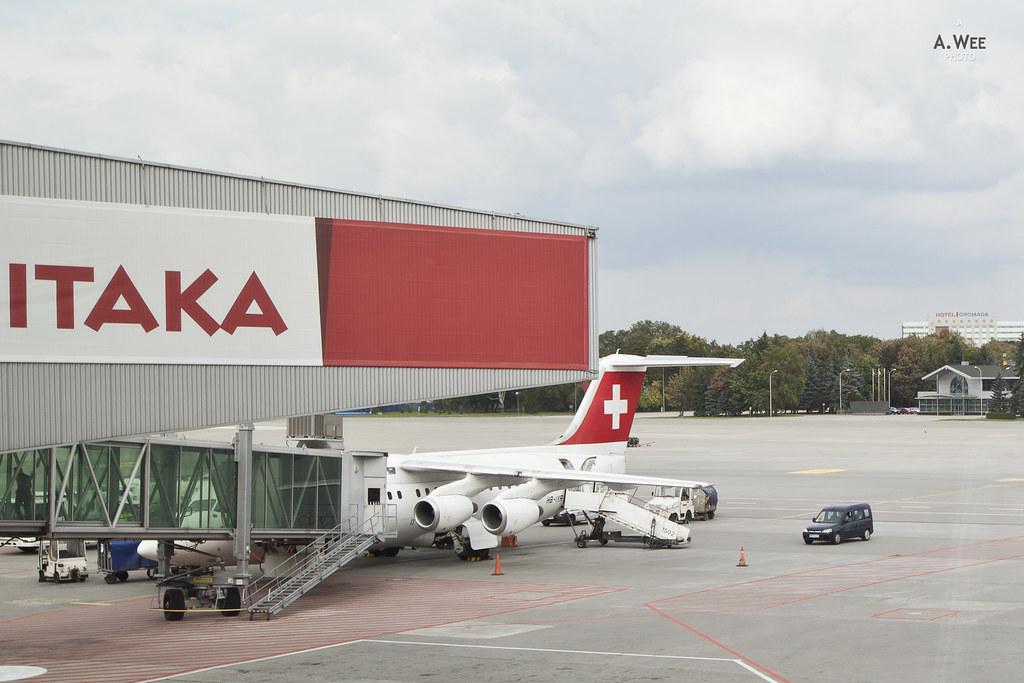 Swiss Air Avro RJ100
