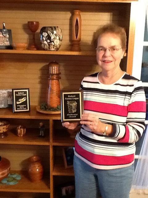 Dawn Lutz 2015 Segment Outhouse Award winner