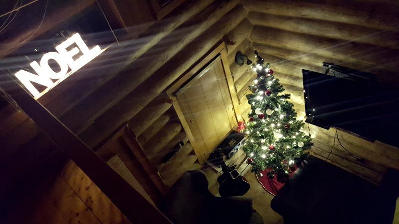 Au Chalet en Bois Rond Christmas