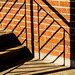 Brick, steps and shadows. by MikeBoyes