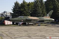 59-1822 RE - D92 - USAF - Republic F-105D Thunderchief - Polish Aviation Musuem - Krakow, Poland - 151010 - Steven Gray - IMG_9785