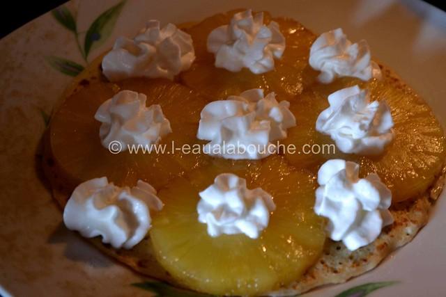 Gateau de Crêpes à l'Ananas  © Ana Luthi Tous droits réservés 5