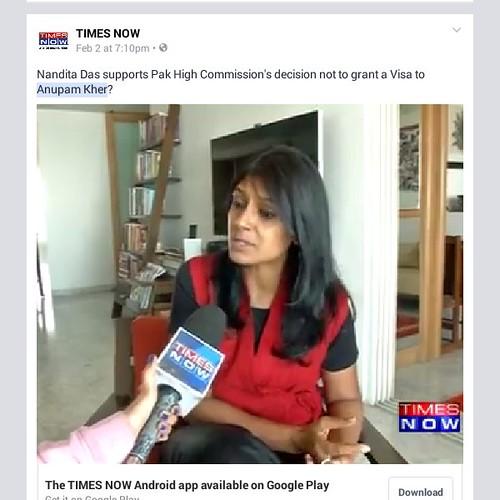 Nandita Das wishes...