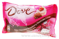 Dove Milk Chocolate Strawberry Shortcake Crisp Promises