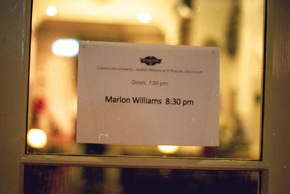 BTS: Marlon Williams