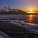 Nubble Lighthouse Sunrise by William Powe Photography 